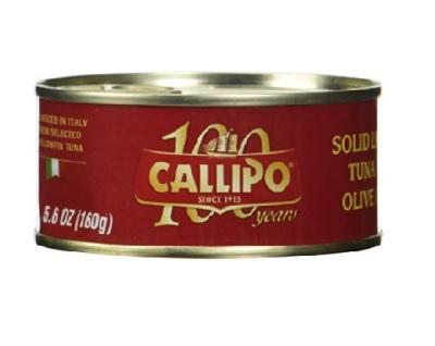 Tuncis Extra Virgin olīveļļā Calippo