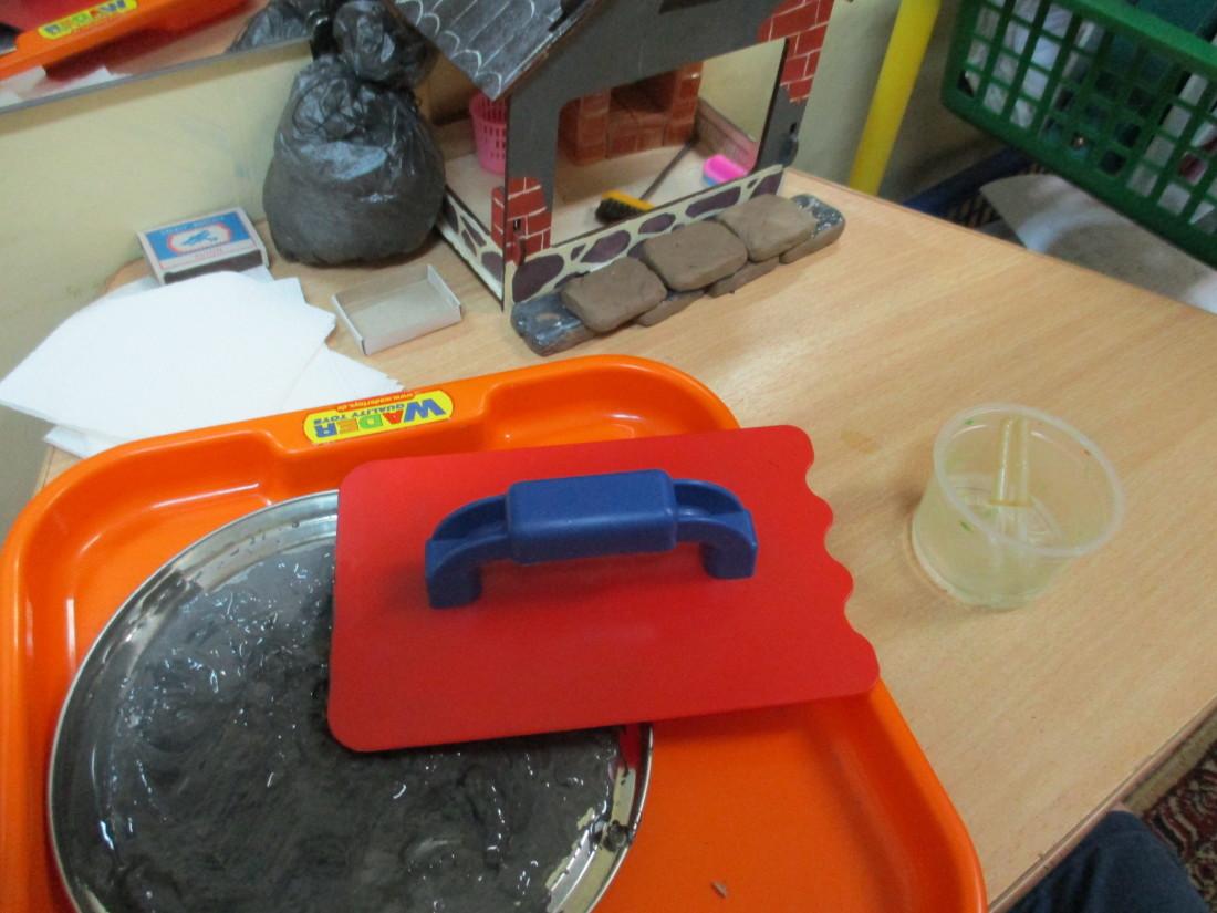 Эксперимент с глиной. «Н. Три поросенка»